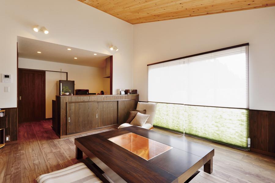 withmamaの家HirayaStyle平屋スタイルのダイニング画像