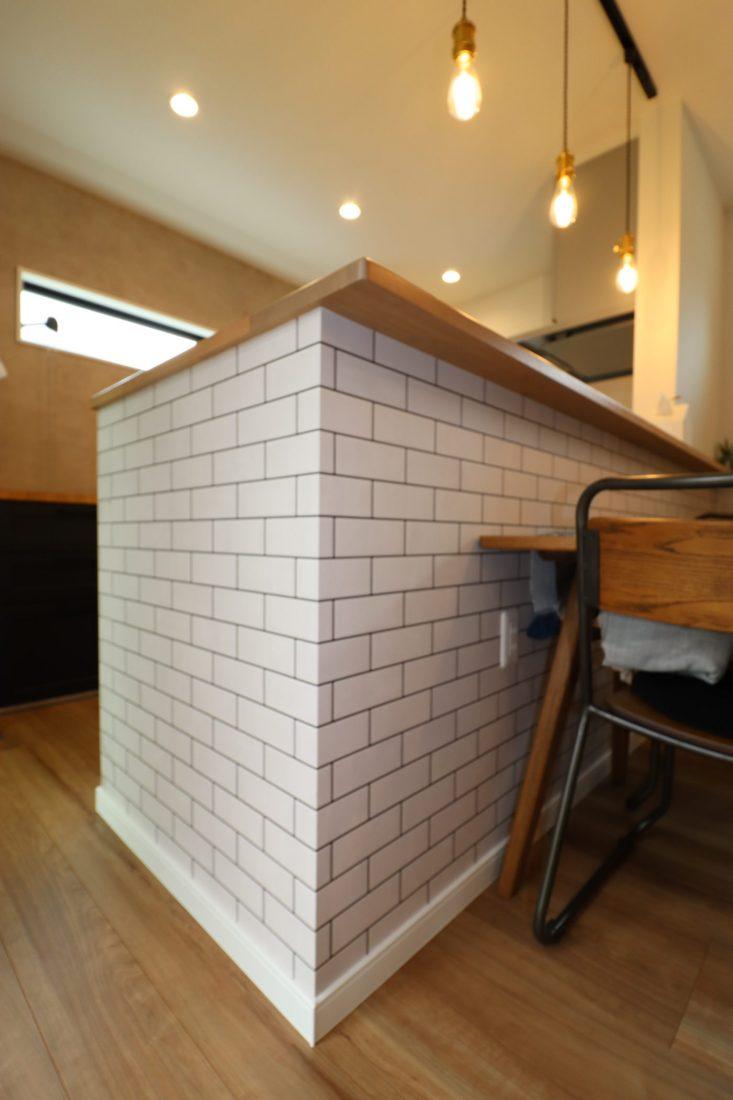 withmamaの家calma(カルマ)対面キッチン画像